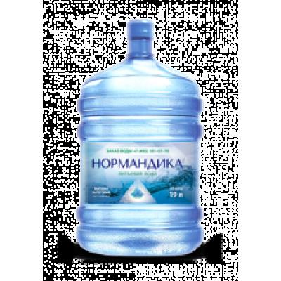 Заказать воду Нормандика